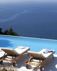 Isola Rossa holiday villa with swimming pool Near Porto Santo Stefano, Monte Argentario