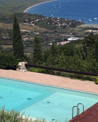 Vigna Alta holiday villa with swimming pool Near Porto Ercole - Monte Argentario