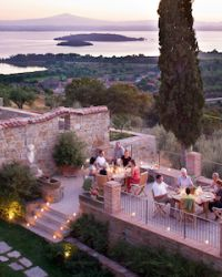 Il Convento holiday villa with swimming pool Perugia, Umbria, Italy