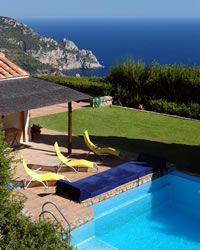 Cala Piazzoni holiday villa with swimming pool Near Porto Ercole - Monte Argentario