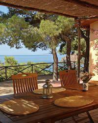La Casetta holiday villa  Le Cannelle - near Porto Santo Stefano