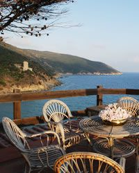 Le Cannelle holiday villa next to the sea Between Porto Ercole and Porto Santo Stefano