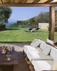 La Macchia holiday villa  Le Cannelle - near Porto Santo Stefano