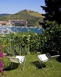 Le Viste holiday villa  Porto Ercole, Monte Argentario
