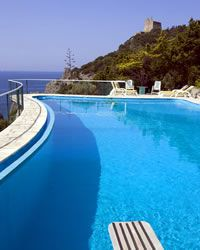 Il Patio holiday villa with swimming pool Ansedonia