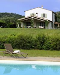 Casa Il Giardino holiday villa with swimming pool Near Capalbio