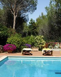 Le Palme holiday villa with swimming pool Porto Ercole - Monte Argentario