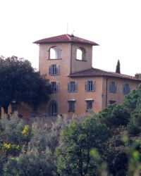 Villa del Chianti holiday villa with swimming pool Near Florence