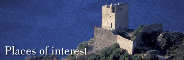 Places of interest in and around Monte Argentario